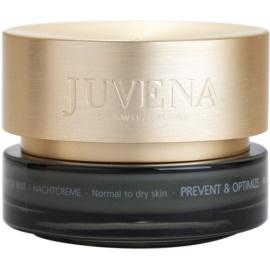 Juvena Prevent & Optimize crema de noche antiarrugas  para pieles normales y secas  50 ml