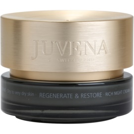 Juvena Regenerate & Restore Feuchtigkeitsspendende Nachtcreme mit ernährender Wirkung für trockene bis sehr trockene Haut  50 ml