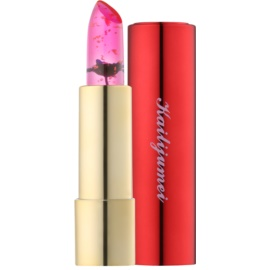 Kailijumei Limited Edition průhledná rtěnka s květinou odstín Dream Purple  3,8 g