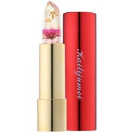 Kailijumei Limited Edition průhledná rtěnka s květinou odstín Flame Red  3,8 g