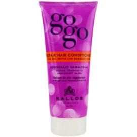 Kallos Gogo regenerierender Conditioner für trockenes und beschädigtes Haar  200 ml