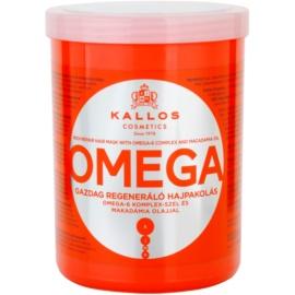 Kallos KJMN vyživující maska na vlasy s omega-6 komplexem a makadamia olejem  1000 ml