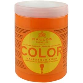 Kallos KJMN mascarilla para cabello teñido  1000 ml