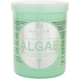 Kallos KJMN хидратираща маска с екстракт от водорасли и зехтин  1000 мл.
