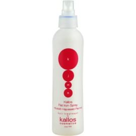 Kallos KJMN ochranný sprej pro tepelnou úpravu vlasů  200 ml