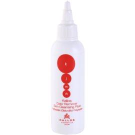 Kallos KJMN płyn do usuwania śladów farby ze skóry ze skóry  100 ml