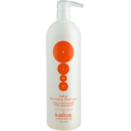Kallos KJMN šampon pro objem  1000 ml