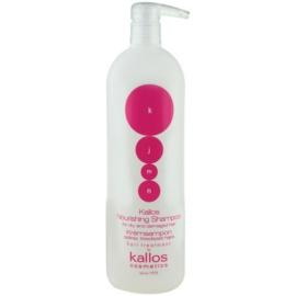 Kallos KJMN hranilni šampon za suhe in poškodovane lase  1000 ml