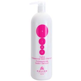 Kallos KJMN nährendes Shampoo zur Erneuerung und Stärkung der Haare  1000 ml