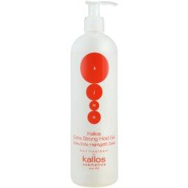 Kallos KJMN gel na vlasy extra silné zpevnění  500 ml