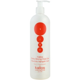 Kallos KJMN gel de cabelo fixação extra forte  500 ml
