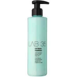 Kallos LAB 35 kondicionér pro vlnité vlasy bez parabenů  250 ml