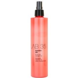 Kallos LAB 35  leche regeneradora para cabello seco y dañado  300 ml