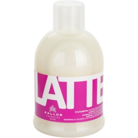 Kallos Latte šampon pro suché a poškozené vlasy  1000 ml