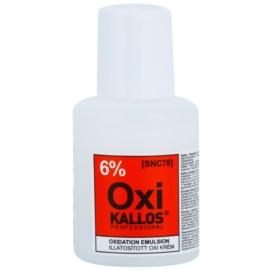 Kallos Oxi кремовий пероксид 6% для професійного використання  60 мл