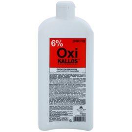 Kallos Oxi Peroxide Cream 6%Peroxide Cream 6% pentru uz profesonial  1000 ml