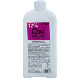 Kallos Oxi кремообразна активираща емулсия 12% за професионална употреба  1000 мл.