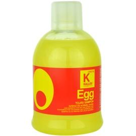 Kallos Egg vyživující šampon pro suché a normální vlasy  1000 ml