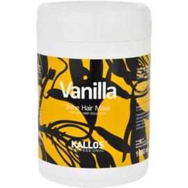Kallos Vanilla máscara para cabelo seco  1000 ml