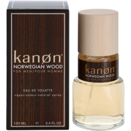 Kanon Norwegian Wood eau de toilette para hombre 100 ml