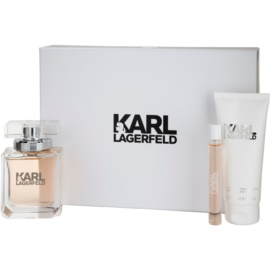 Karl Lagerfeld Karl Lagerfeld for Her  parfum 85 ml + roll-on 10 ml + losjon za telo 100 ml