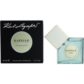 Karl Lagerfeld Kapsule Light eau de toilette unisex 30 ml