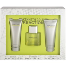 Kenneth Cole Cole Reaction ajándékszett V. Eau de Toilette 50 ml + tusfürdő gél 100 ml + borotválkozás utáni gél  100 ml