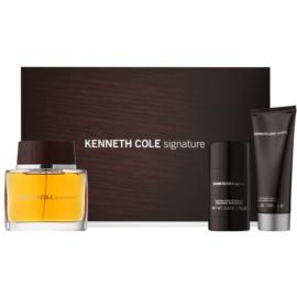 Kenneth Cole Signature dárková sada I. toaletní voda 100 ml + balzám po holení 100 ml + deostick 75 g