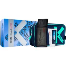 Kenzo Homme Sport dárková sada II. toaletní voda 100 ml + voda po holení 50 ml + taška 1 ks
