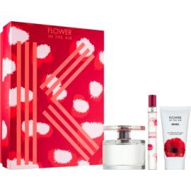 Kenzo Flower In The Air darilni set XIV. parfumska voda 100 ml + losjon za telo 50 ml + parfumska voda 15 ml