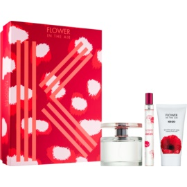 Kenzo Flower In The Air lote de regalo XIV. eau de parfum 100 ml + leche corporal 50 ml + eau de parfum 15 ml