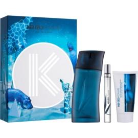 Kenzo Kenzo pour Homme dárková sada VII.  toaletní voda 100 ml + 15 ml + balzám po holení 50 ml
