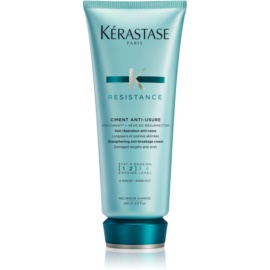 Kérastase Résistance Ciment Anti-Usure lahka intenzivna nega s krepilnimi učinki za oslabljene in rahlo poškodovane lase in razcepljene konice  200 ml