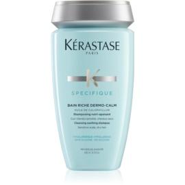 Kérastase Specifique Bain Riche Dermo-Calm Shampoo für empfindliche Kopfhaut und trockenes Haar ohne Silikone  250 ml