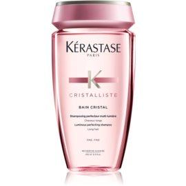 Kérastase Cristalliste Bain Cristal Shampoo für feine Haare ohne Silikone, Parabene und Farbstoffe  250 ml