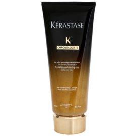 Kérastase Chronologiste tratamento esfoliante revitalizador para todos os tipos de cabelos pré banho  200 ml