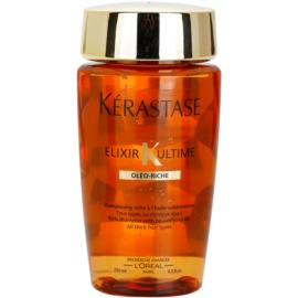 Kérastase Elixir Ultime reiches Öl Shampoo für starkes, raues und trockenes Haar  250 ml