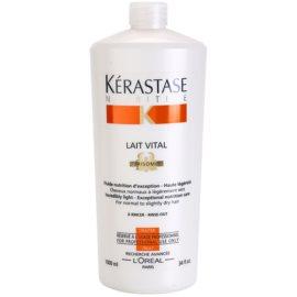 Kérastase Nutritive Lait Vital tratamento nutritivo suave para cabelos normais a ligeiramente secos  1000 ml