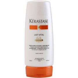 Kérastase Nutritive Lait Vital tratamento nutritivo suave para cabelos normais a ligeiramente secos  200 ml