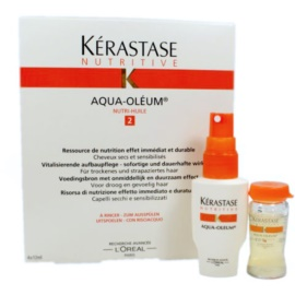 Kérastase Nutritive Aqua-Oléum Cure for Dry and Damaged Hair  4x12 ml