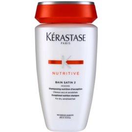 Kérastase Nutritive Nährende Shampoo-Kur für normales bis starkes, mitteltrockenes Haar  250 ml