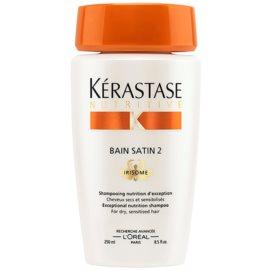 Kérastase Nutritive Bain Satin 2 подхранваща шампоан-грижа за суха чувствителна коса  250 мл.