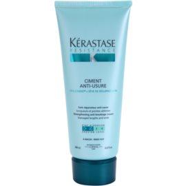 Kérastase Resistance Ciment Anti-Usure intenzivní péče pro oslabené a lehce poškozené vlasy a roztřepené konečky  200 ml