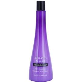 Keratin Classic Smooth condicionador para cabelos crespos e inflexíveis  400 ml