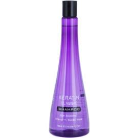 Keratin Classic Smooth šampon pro nepoddajné a krepatějíci se vlasy  400 ml