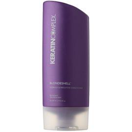 Keratin Complex Blondeshell condicionador nutritivo para cabelo loiro e com madeixas sem parabenos  400 ml