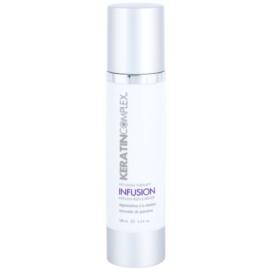Keratin Complex Infusion Therapy ochranný regenerační krém pro tepelnou úpravu vlasů  100 ml