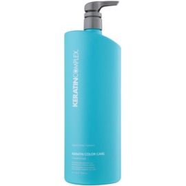 Keratin Complex Smoothing Therapy acondicionador hidratante con efecto alisado para proteger el color   1000 ml