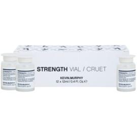 Kevin Murphy Strength Vial regenerační ampule pro suché, poškozené a chemicky ošetřené vlasy  12 ks