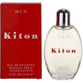 Kiton Kiton eau de toilette para hombre 75 ml
